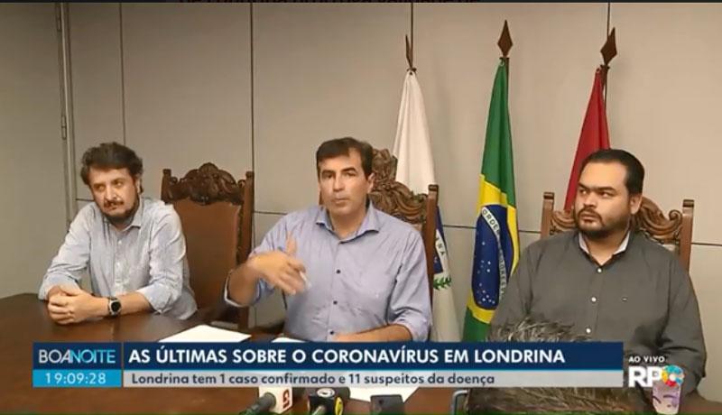 Prefeito de Londrina decreta fechamento do comércio por 15 dias