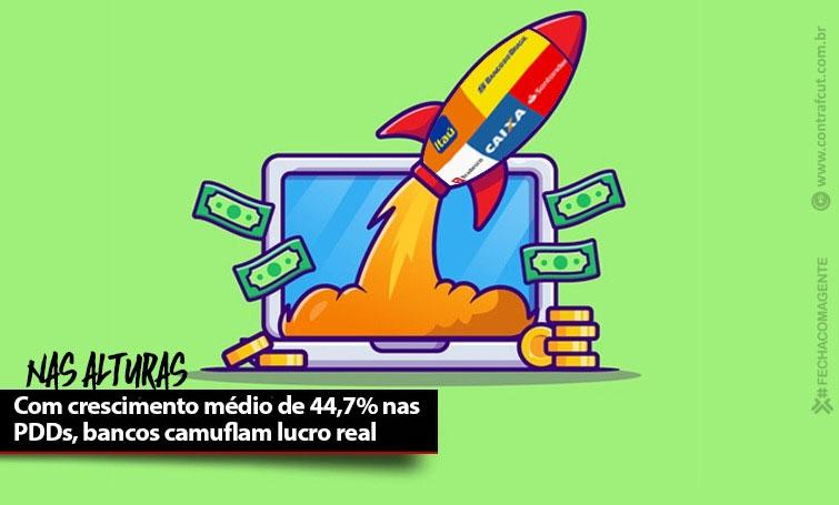 Cinco maiores bancos do País lucraram mais de R$ 53 bilhões em nove meses
