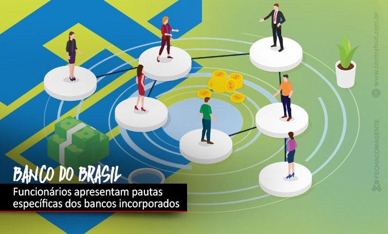 CEBB apresenta ao Banco do Brasil demandas dos bancos incorporados