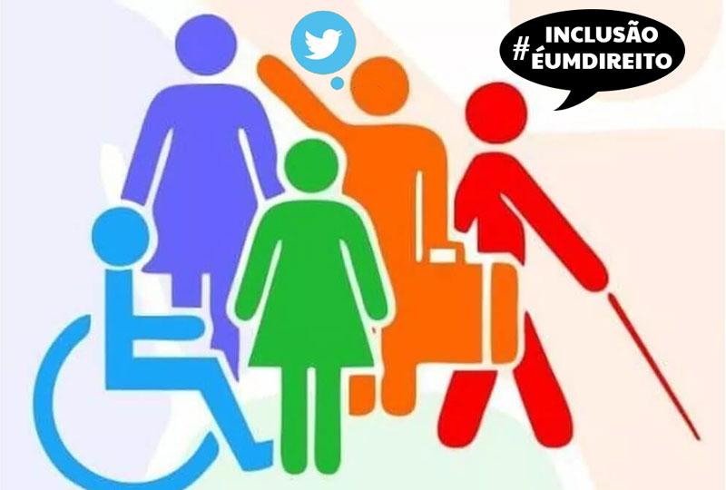Tuitaço nesta quinta (3) marca o  Dia da Pessoa com Deficiência