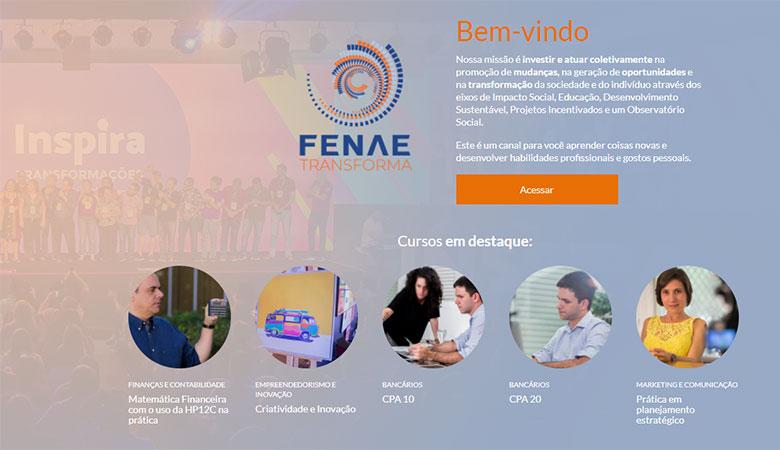 Plataforma de cursos EAD da Fenae tem novo endereço