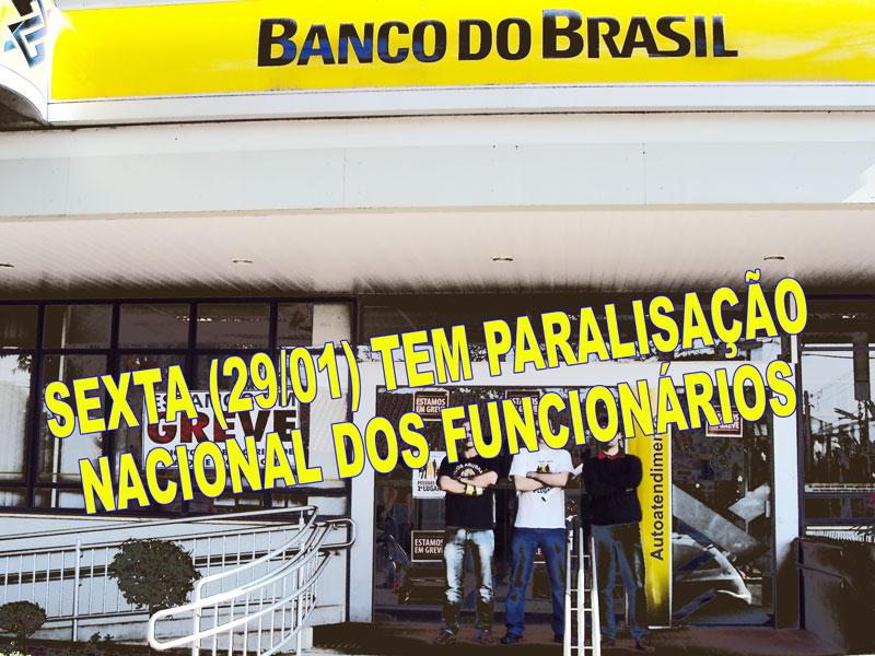 Funcionários nas bases do Vida Bancária aprovam paralisação na sexta (29)