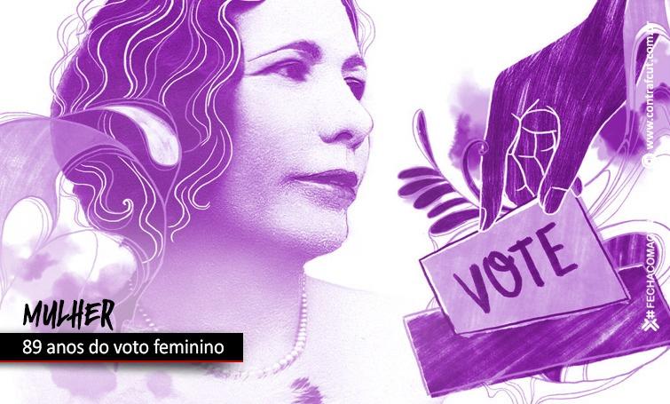 Mulheres conquistaram há 89 anos o direito ao voto no Brasil