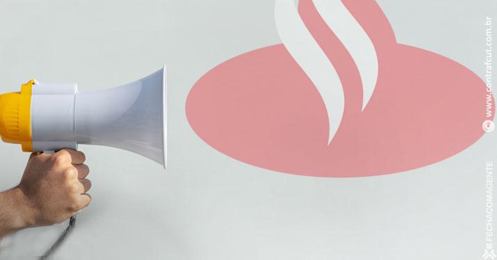 Santander assina acordo de teletrabalho na Espanha, mas aqui se recusa a negociar direitos