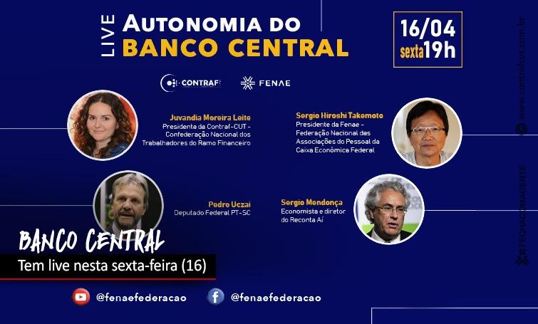 Autonomia do Banco Central será debatida nesta sexta-feira (16)