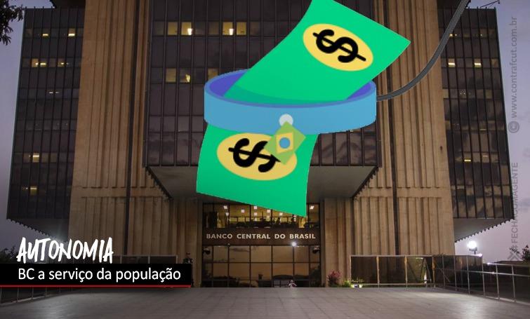 Dependência do BC ao setor financeiro é ameaça ao País