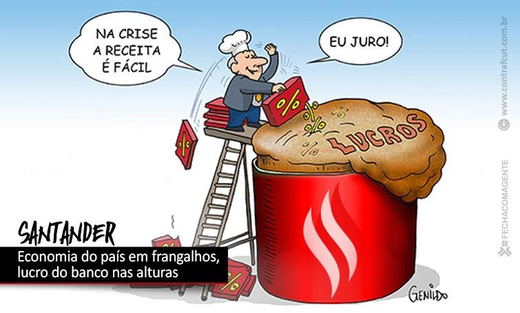 Lucro do Santander ultrapassa R$ 4 bilhões nos três primeiros meses de 2021