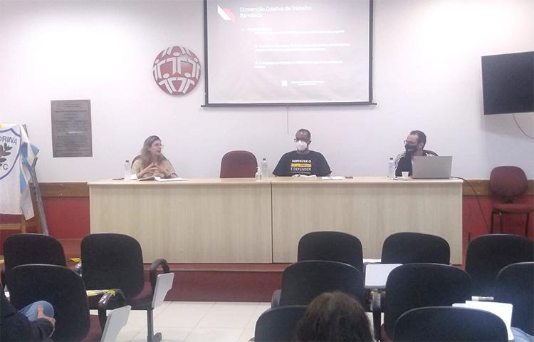 Curso capacita dirigentes do Sindicato para construir a CCT