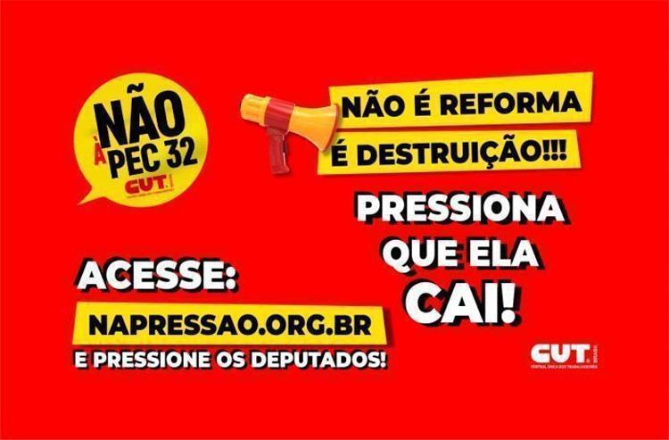 Servidores estão em Brasília nesta semana para lutar contra a reforma administrativa