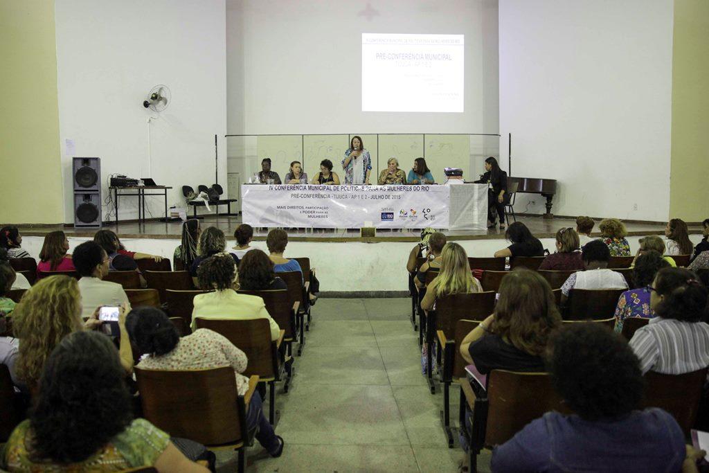 O plenário da pré-conferência realizada em Campo Grande no último final de semana