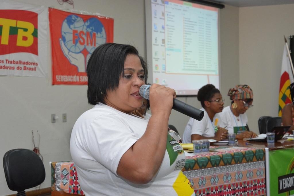 A diretora de Políticas Sociais, Rosangela Rocha