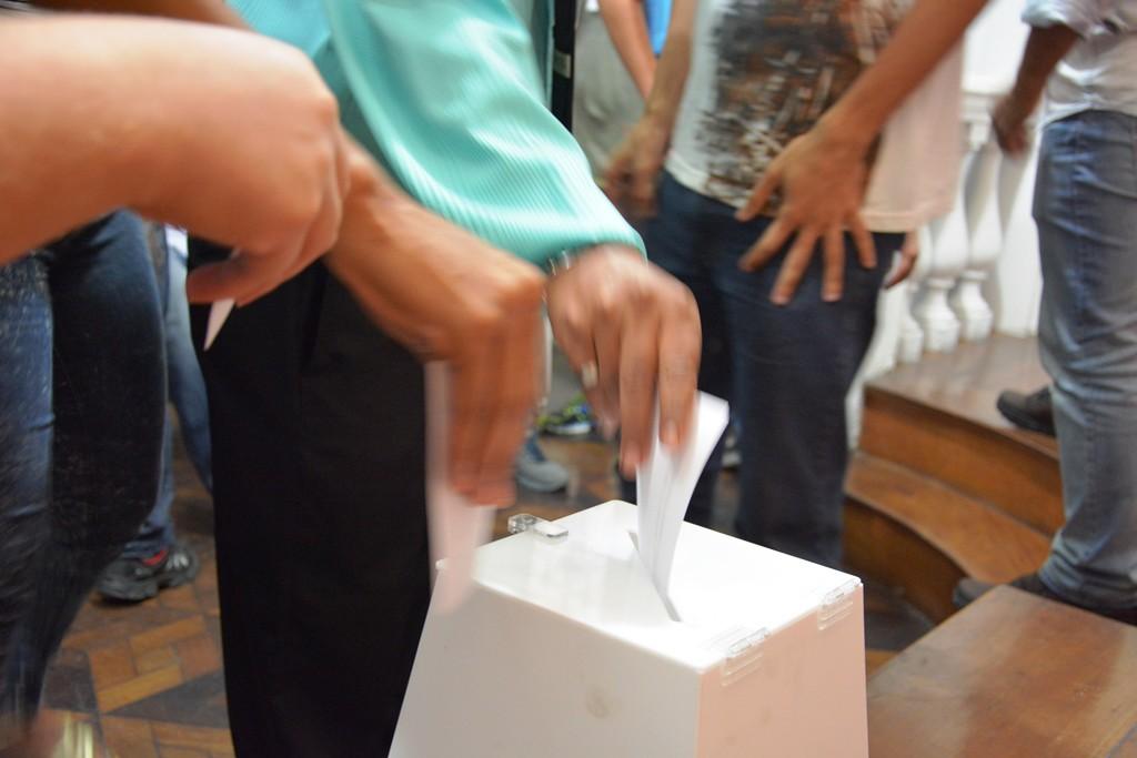 Setenta e nove dos 71 demitidos presentes à Assembleia votaram favoravelmente ao acordo. Imagem: Rafael Rodrigues/ Comerciários