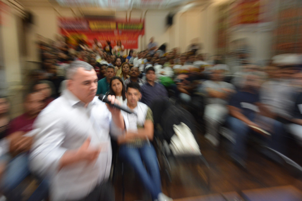 Assembleia Geral na sede do Sindicato dos Comerciários do Rio | Foto: Rafael Rodrigues/Comerciários