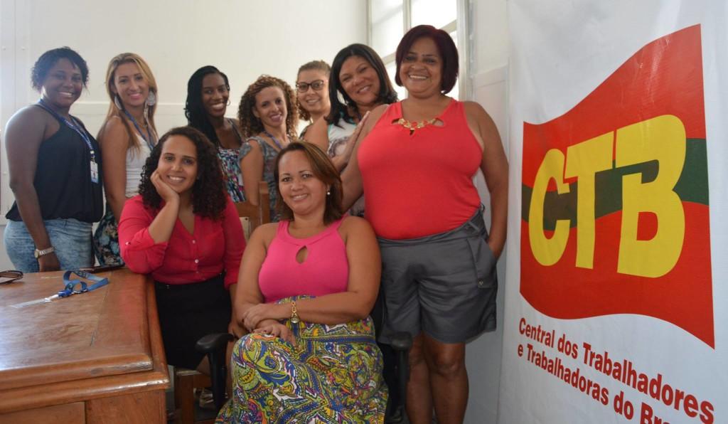 Diretoras se unem e fundam coletivo de mulheres do Sindicato dos Comerciários do Rio. Imagem: Roberta Costa/SECRJ