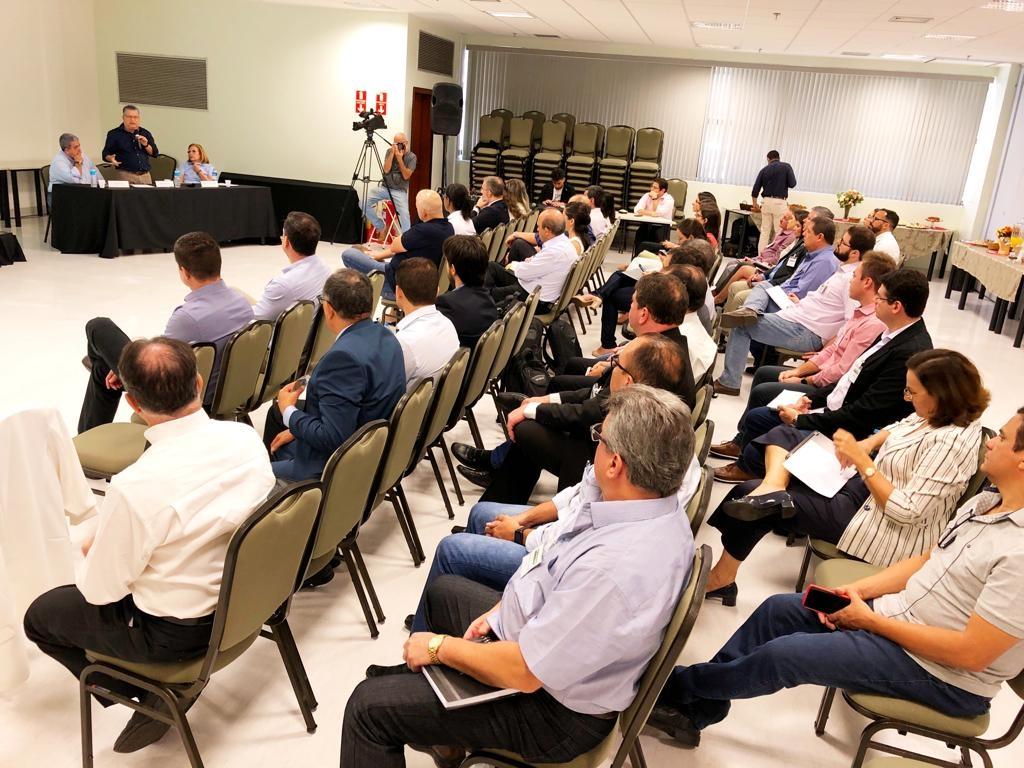 Sindicalistas da Força participam de encontro sobre relações trabalhistas organizado pela Única