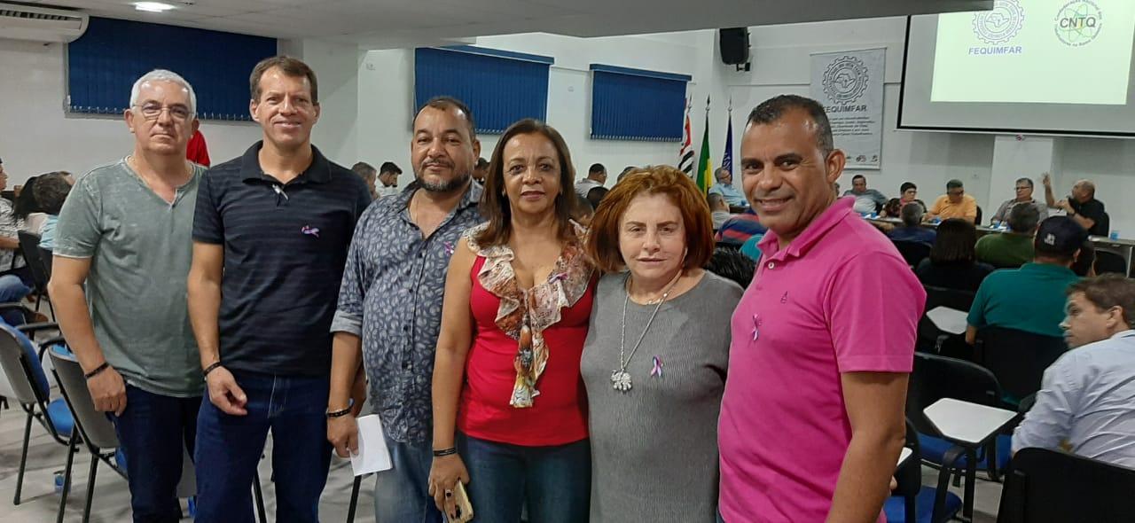 Stiquifar participa de ação para fortalecer a luta sindical e nota de repúdio é aprovada contra à PEC 171