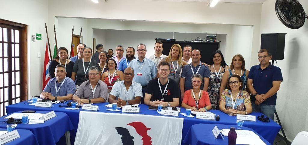 Abertura do encontro da rede mundial de trabalhadores da Indústria Farmacêutica