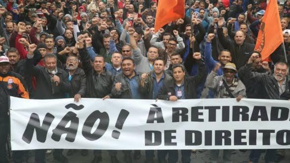 Centrais Sindicais vão às ruas nesta quarta contra o desemprego e novo pacote do governo