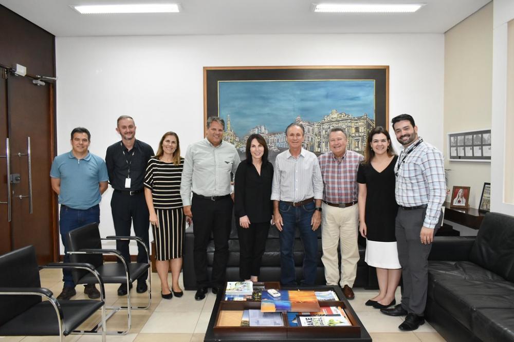 MOSAIC – Piau recebe em Uberaba a nova vice-presidente da Mosaic Fertilizantes