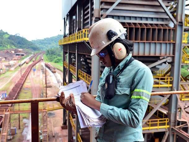 Vagas na mineradora Vale em Minas Gerais