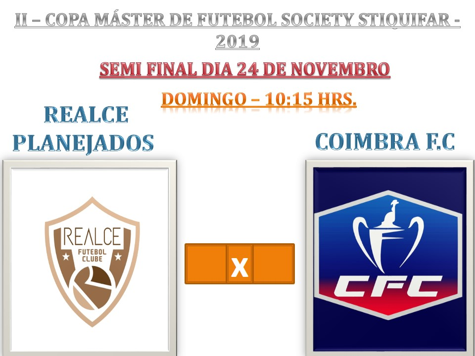Coimbra vence de goleada na Copa Máster de Futebol Society do Stiquifar