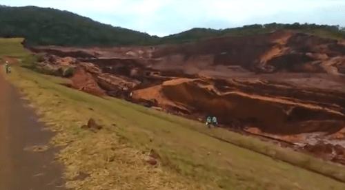 Agência Nacional de Mineração faz vistoria em barragem de Brumadinho