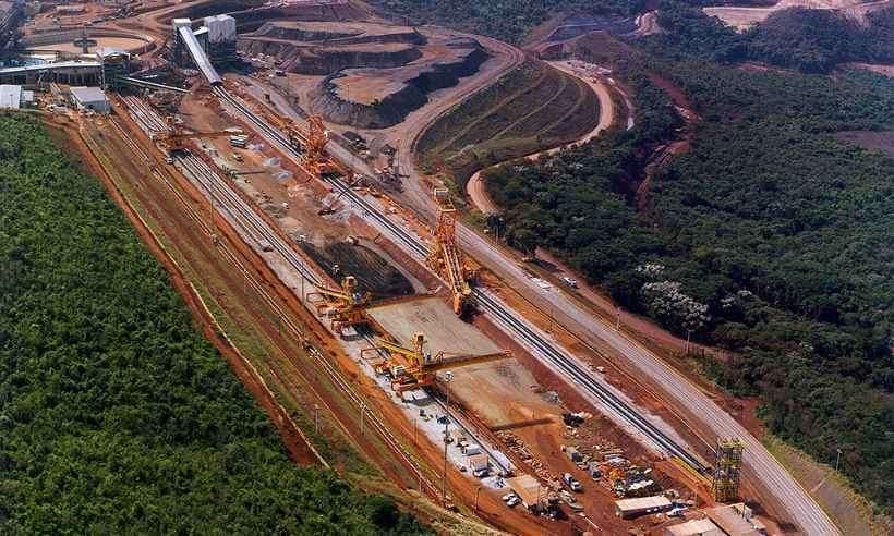 Vale suspende temporariamente operação na maior mina da empresa em Minas