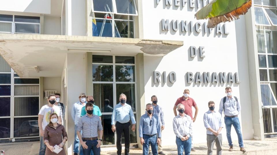 Instalação de indústria de fertilizantes em Rio Bananal vai gerar 300 vagas de empregos