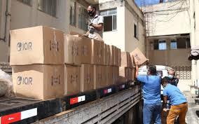 Vale faz nova doação de itens para combate ao Coronavírus