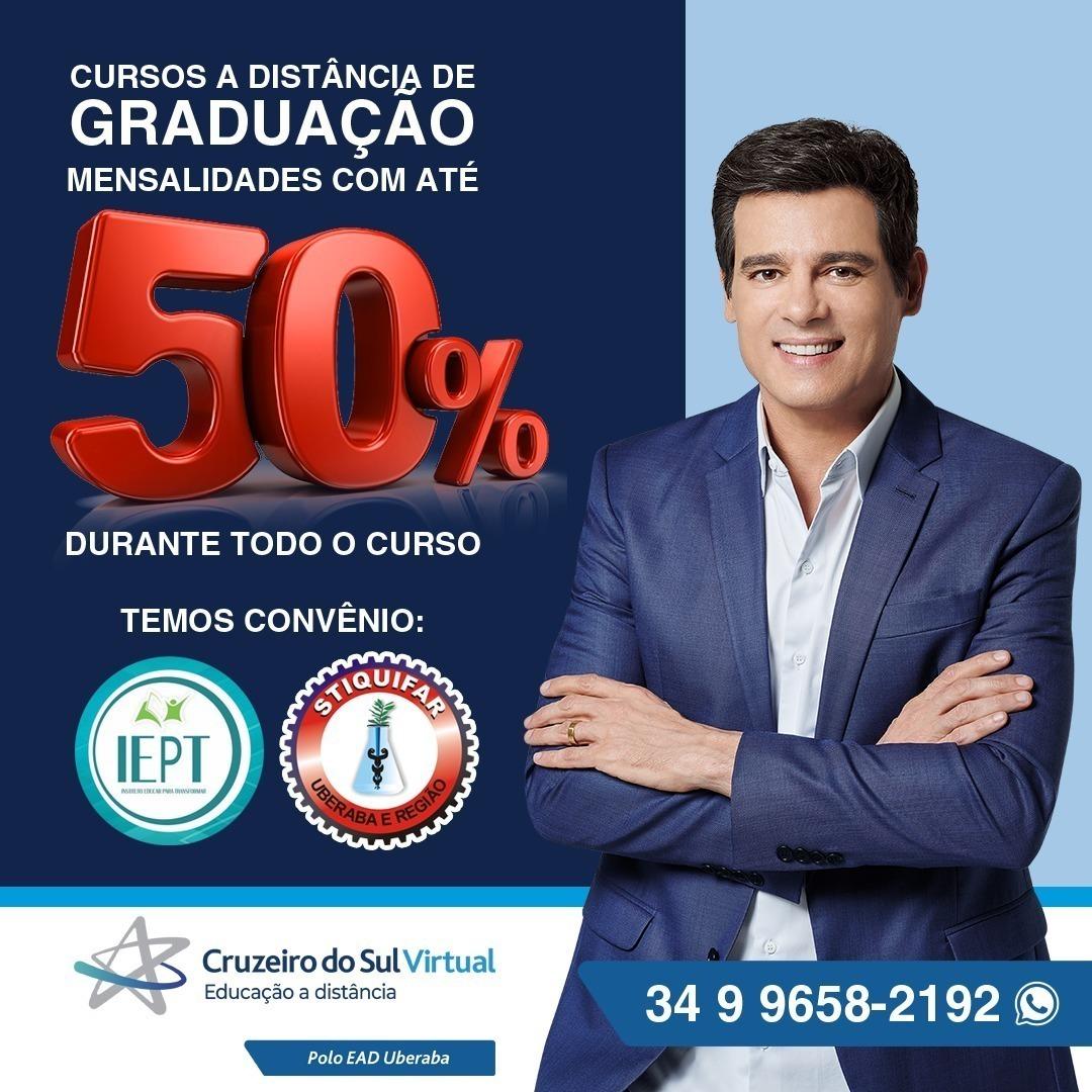 IEPT/Stiquifar fecha parceria com a faculdade Cruzeiro do Sul Virtual