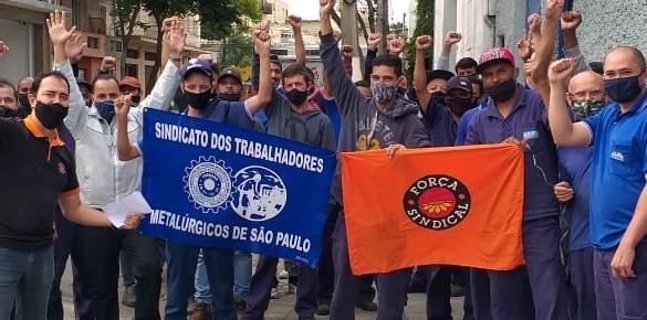 Em greve vitoriosa, trabalhadores da Alfa Elevadores garantem PLR