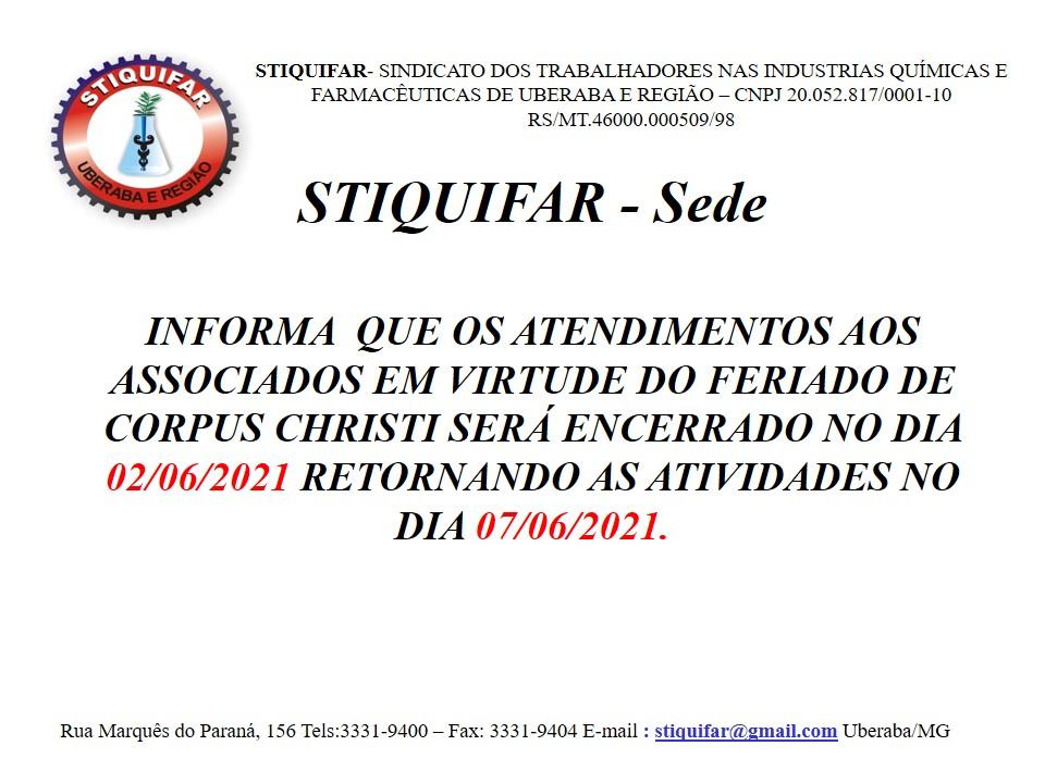 COMUNICADO IMPORTANTE PARA TODOS OS TRABALHADORES DA BASE