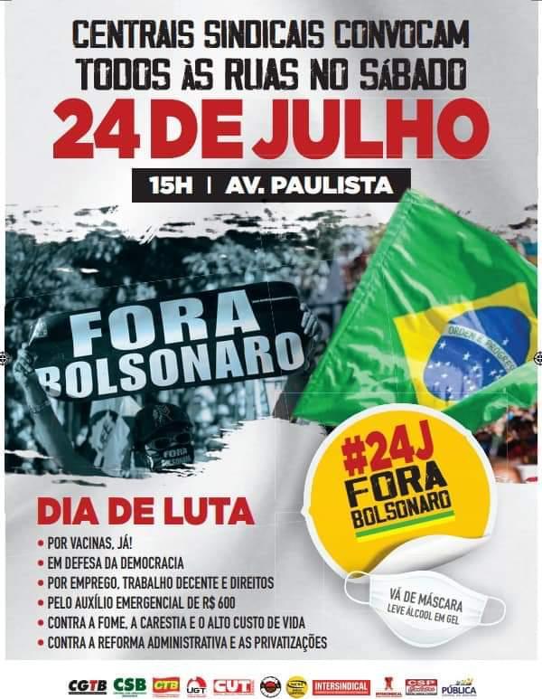 Stiquifar convoca trabalhadores da base para movimento contra governo Bolsonaro