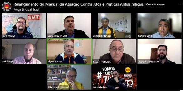 Sindicalistas debatem ações para enfrentar práticas antissindicais