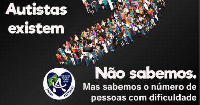 Manifestação em prol da inclusão dos Autistas no Censo 2020