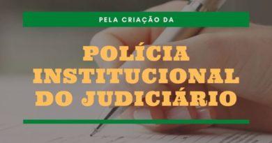 Assine abaixo-assinado virtual promovido pelo Sindjus-DF e Agepoljus em favor da criação da Polícia Institucional do Poder Judiciário