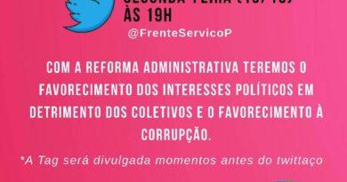 Participe do Twittaço da Frente Parlamentar com a TAG #ReformaParaCorruptos