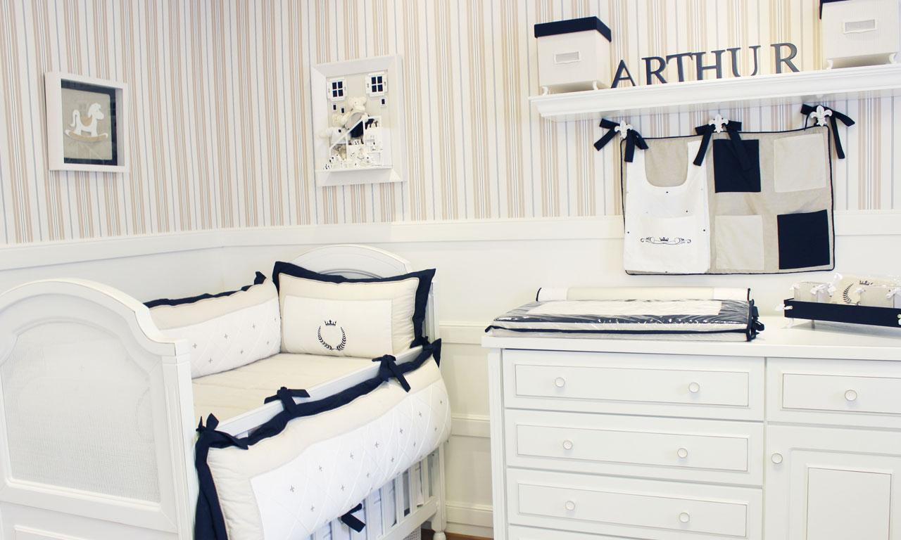 Quartos De Menino Azul Marinho Para Te Inspirar Blog Lilibee ~ Quarto Azul Marinho E Branco E Montar O Quarto Do Bebe