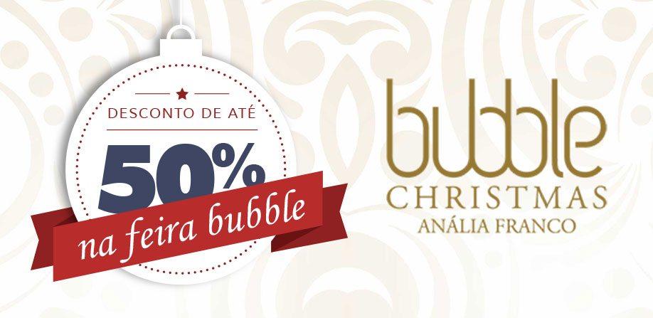 Lilibee na Feira Bubble Christmas