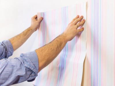 como instalar papel de parede sozinha