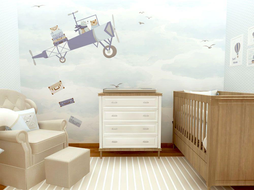 7 dicas de ouro para escolher o papel de parede do quarto do bebê