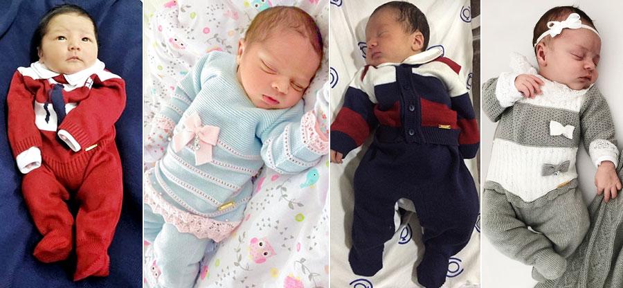 saída maternidade perfeita bebês