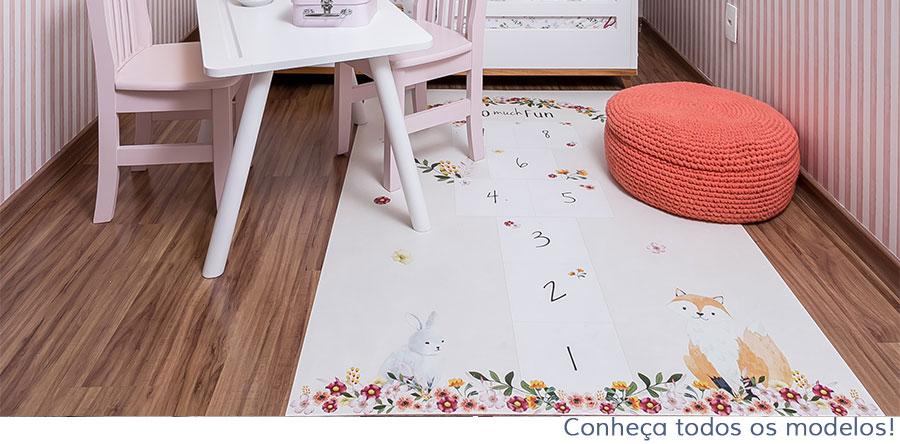 segurança no quarto de bebê tapetes