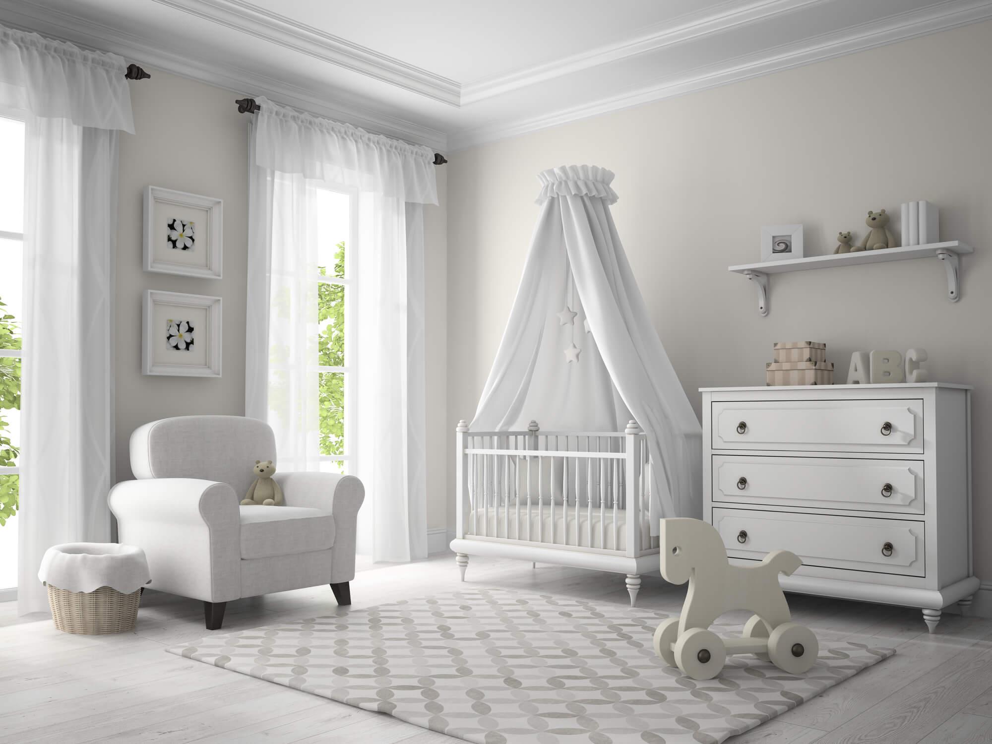 Confira 4 dicas essenciais de como decorar quarto de bebê