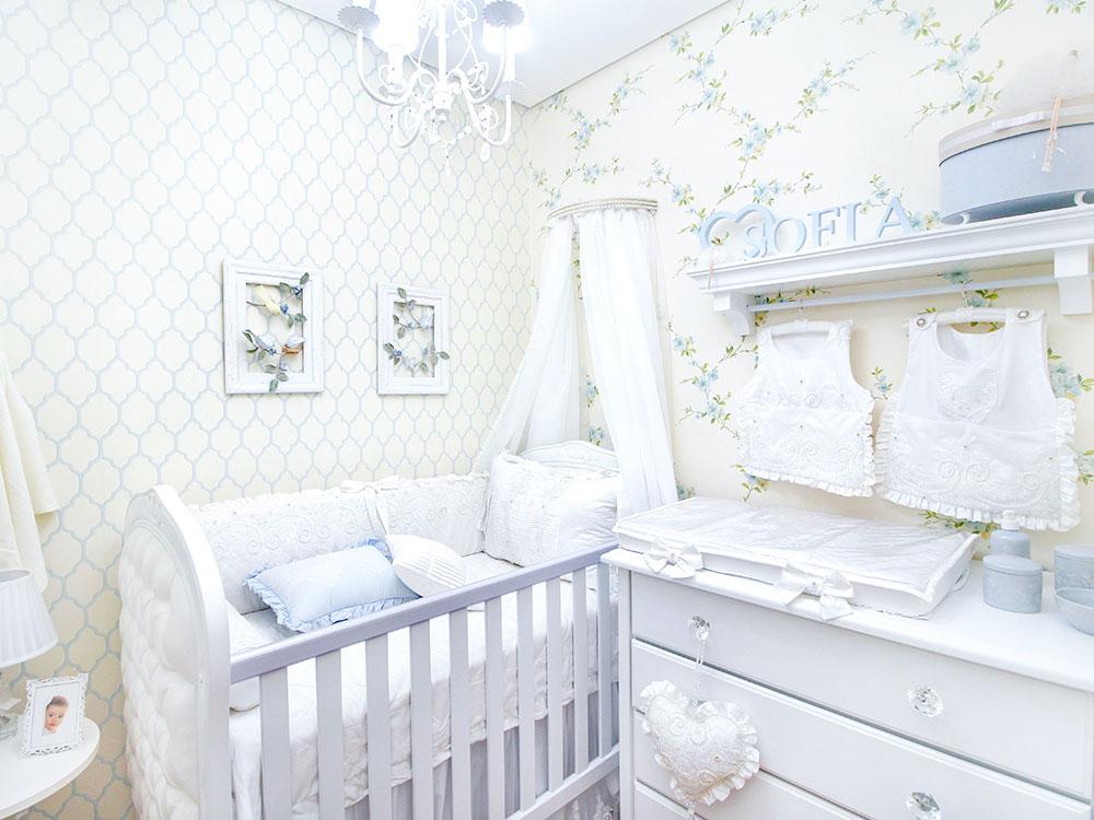 Saiba como decorar um quarto pequeno de bebê