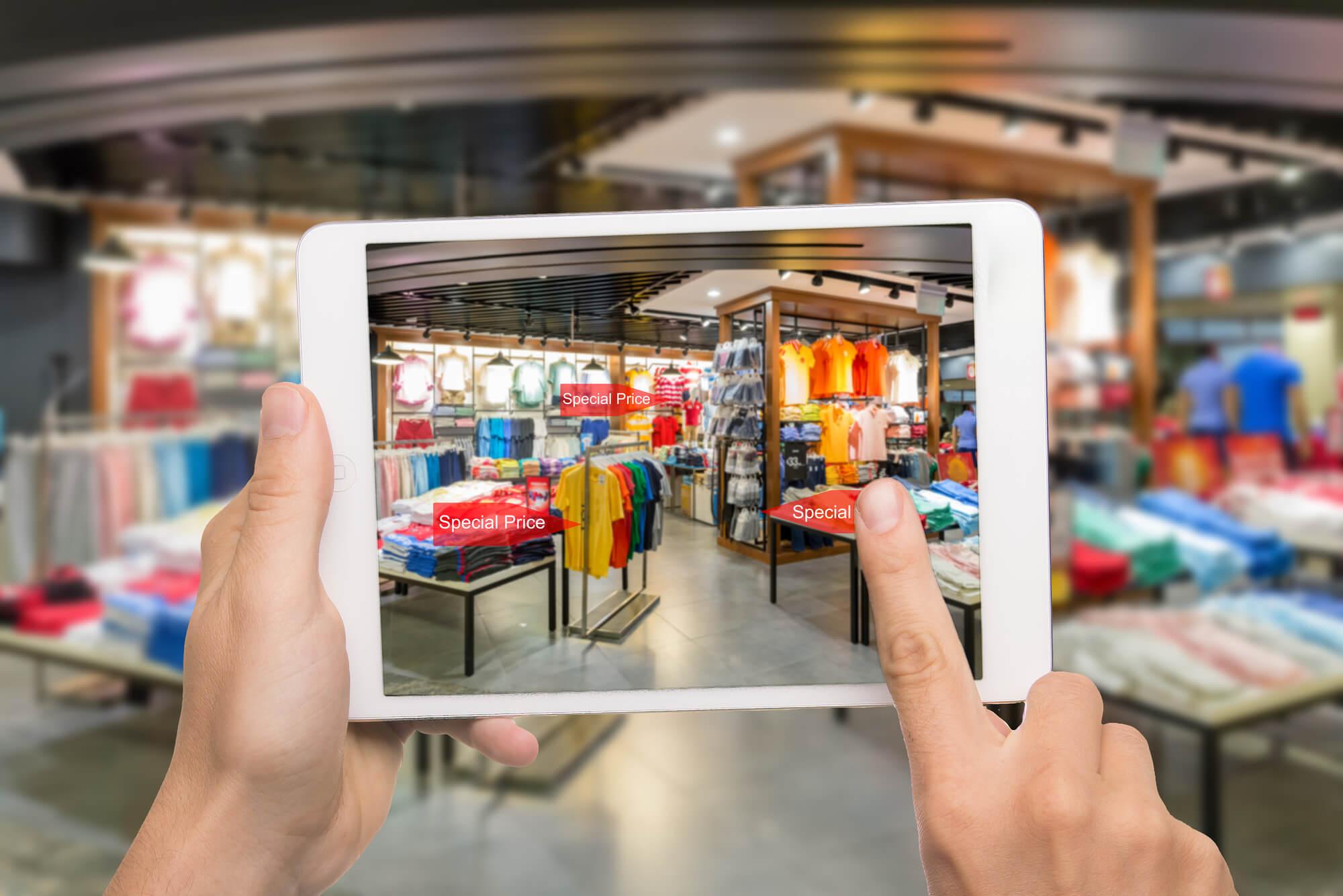 O futuro das lojas físicas está cada vez mais próximo