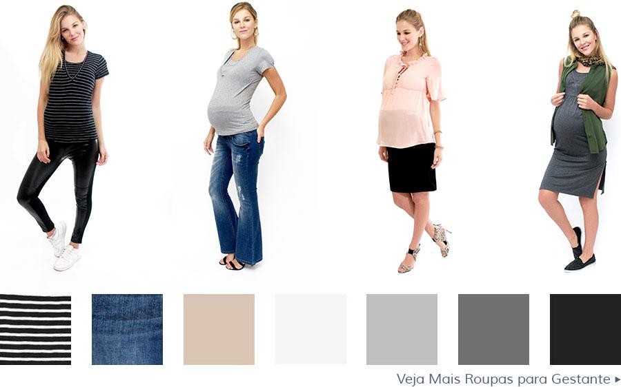 Roupas para gestantes não precisam ser largas e sem um caimento elegante! Confira neste artigo algumas dicas para escolher seu guarda-roupa da maternidade!