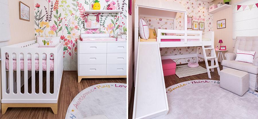 Quarto para Duas Irmãs - móveis