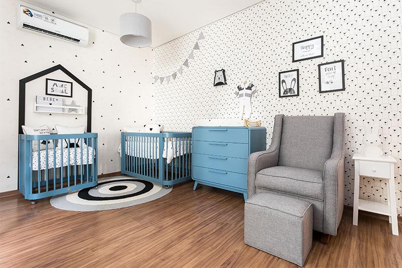 Linha Evolutiva para quarto de menino moderno