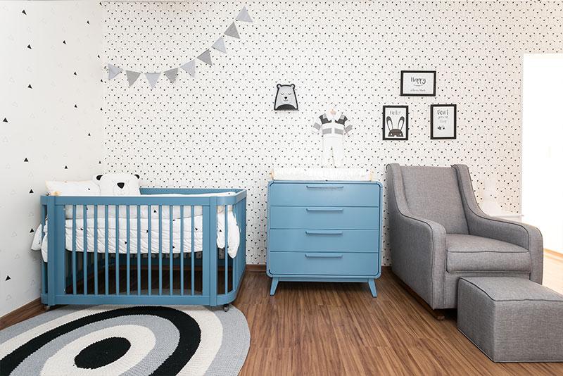 Linha Evolutiva para quarto de menino moderno - móveis